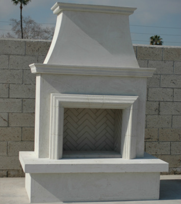 Contractor's with Molding  Fireplace - American Fyre Designs - Outdoor Kitchens by Lighting Concepts