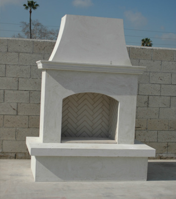 Contractor's  Fireplace - American Fyre Designs - Outdoor Kitchens by Lighting Concepts