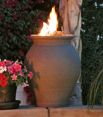 Amphora Fire Urn - American Fyre Designs - Outdoor Kitchens by Lighting Concepts