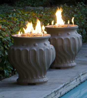 Etruscan Fire Urn - American Fyre Designs - Outdoor Kitchens by Lighting Concepts