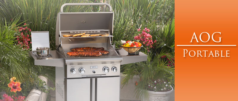 Portable Grills - American Outdoor Grill - Outdoor Kitchens by Lighting Concepts