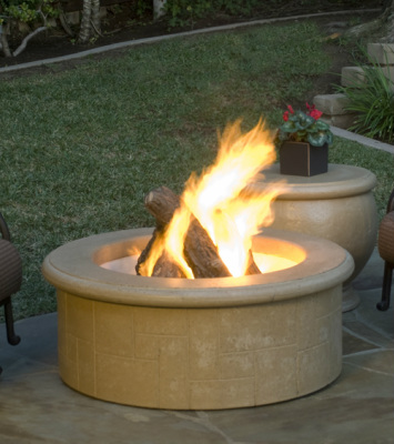 El Dorado Fire Pit - American Fyre Designs - Outdoor Kitchens by Lighting Concepts